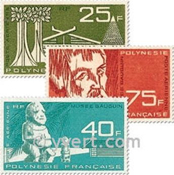 n° 11/13 -  Selo Polinésia Correio aéreo