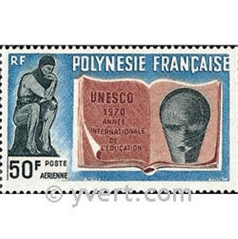 n.o 39 -  Sello Polinesia Correo aéreo