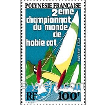 n° 83 -  Selo Polinésia Correio aéreo