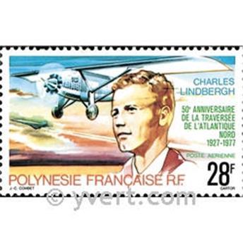 n.o 125 -  Sello Polinesia Correo aéreo