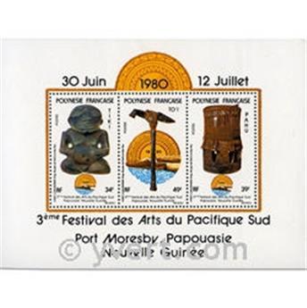 n° 5 -  Timbre Polynésie Bloc et feuillets