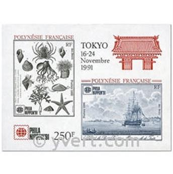 nr. 18 -  Stamp Polynesia Souvenir sheets