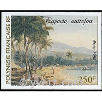 n.o 23 -  Sello Polinesia Bloque y hojitas