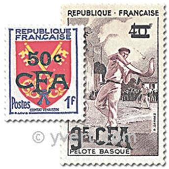 n° 320/330 -  Timbre Réunion Poste