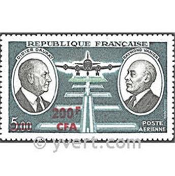 n° 62 -  Timbre Réunion Poste aérienne