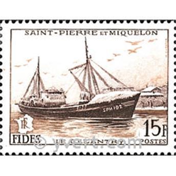 n.o 352 -  Sello San Pedro y Miquelón Correos