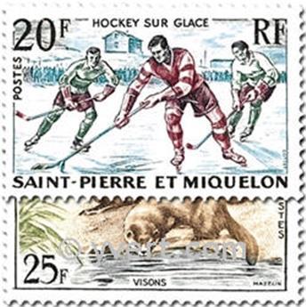 n° 360/361 -  Timbre Saint-Pierre et Miquelon Poste