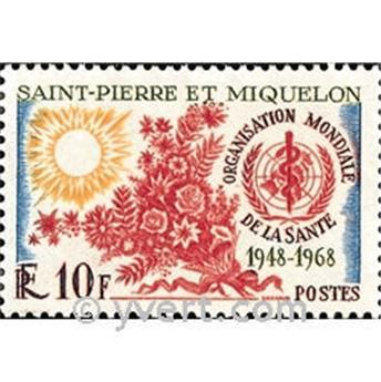 n.o 379 -  Sello San Pedro y Miquelón Correos