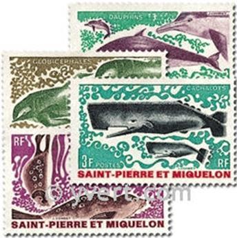 n° 391/394 -  Timbre Saint-Pierre et Miquelon Poste