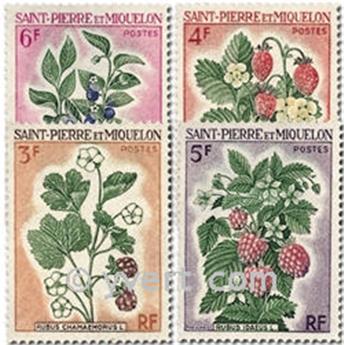 n° 401/404 -  Timbre Saint-Pierre et Miquelon Poste