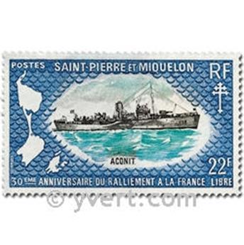 n.o 414/416 -  Sello San Pedro y Miquelón Correos