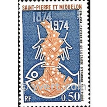 n.o 437 -  Sello San Pedro y Miquelón Correos