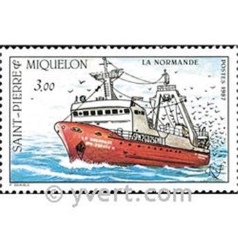 n.o 482 -  Sello San Pedro y Miquelón Correos