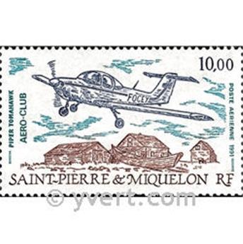 n.o 70 -  Sello San Pedro y Miquelón Correo aéreo