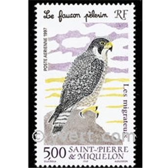 n.o 76 -  Sello San Pedro y Miquelón Correo aéreo