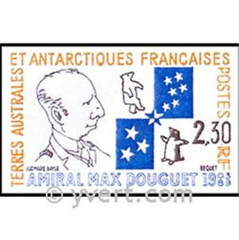 n.o 1-CP -  Sello Tierras Australes y Antárticas Francesas Enteros postales