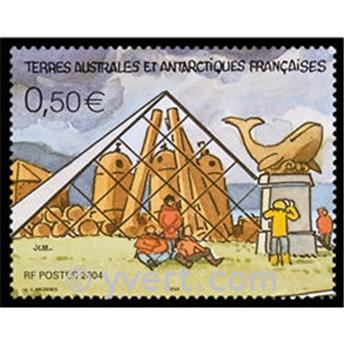 n.o 12 -  Sello Tierras Australes y Antárticas Francesas Bloque y hojitas