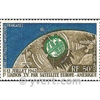 n.o 6 -  Sello Tierras Australes y Antárticas Francesas Correo aéreo
