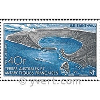 n.o 17 -  Sello Tierras Australes y Antárticas Francesas Correo aéreo