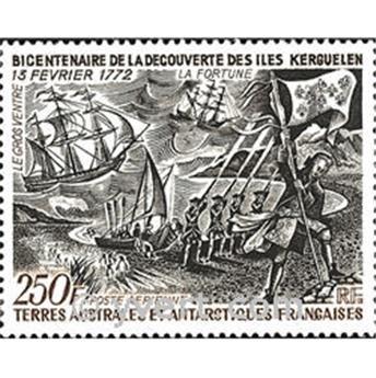 n.o 28 -  Sello Tierras Australes y Antárticas Francesas Correo aéreo