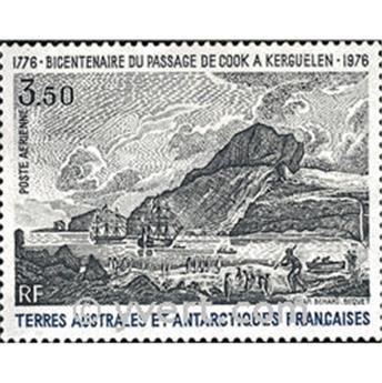 n.o 47 -  Sello Tierras Australes y Antárticas Francesas Correo aéreo