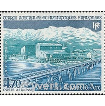 n.o 80 -  Sello Tierras Australes y Antárticas Francesas Correo aéreo