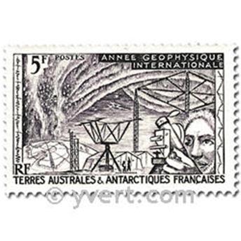 n.o 8 / 10 -  Sello Tierras Australes y Antárticas Francesas Correos