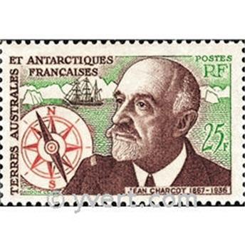 n.o 19 -  Sello Tierras Australes y Antárticas Francesas Correos
