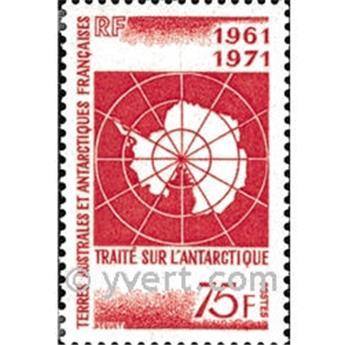 n.o 39 -  Sello Tierras Australes y Antárticas Francesas Correos
