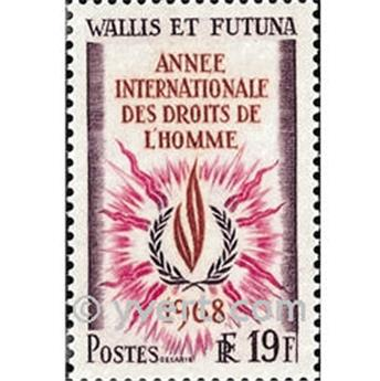 n.o 173 -  Sello Wallis y Futuna Correos