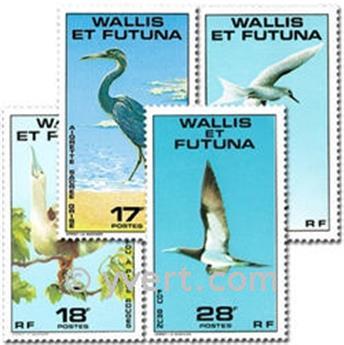 n° 217/220  -  Selo Wallis e Futuna Correios