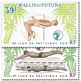 nr. 243/244 -  Stamp Wallis et Futuna Mail