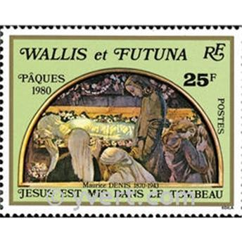 n.o 258 -  Sello Wallis y Futuna Correos