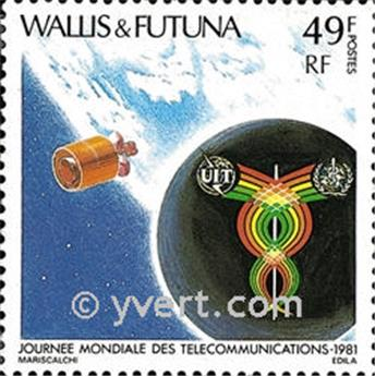 n.o 265 -  Sello Wallis y Futuna Correos