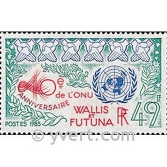 n° 332 -  Timbre Wallis et Futuna Poste