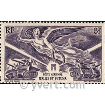 n° 4  -  Selo Wallis e Futuna Correio aéreo
