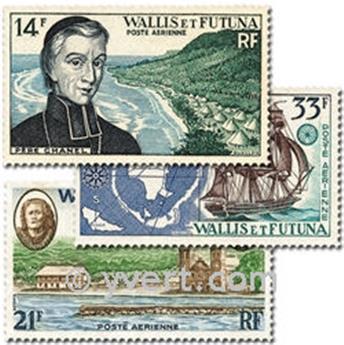 n° 15/17  -  Selo Wallis e Futuna Correio aéreo