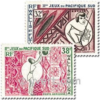 n° 29/30 -  Timbre Wallis et Futuna Poste aérienne