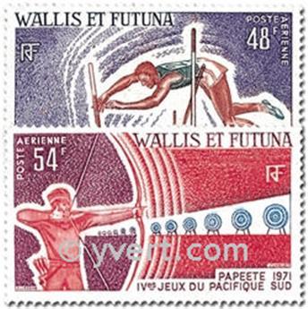 n.o 39 / 40 -  Sello Wallis y Futuna Correo aéreo
