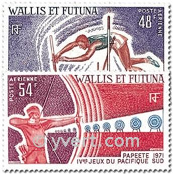 nr. 39/40 -  Stamp Wallis et Futuna Air Mail