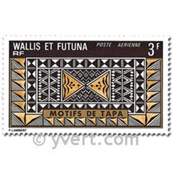 n° 58/61 -  Timbre Wallis et Futuna Poste aérienne