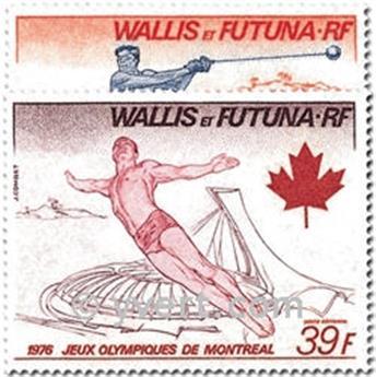 n° 72/73 -  Timbre Wallis et Futuna Poste aérienne