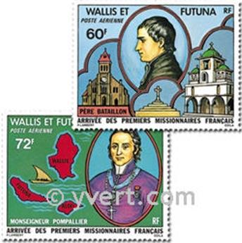 n° 82/83 -  Timbre Wallis et Futuna Poste aérienne