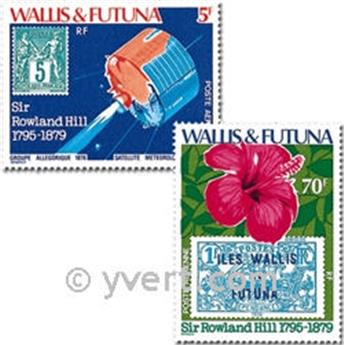 n° 92/95 -  Timbre Wallis et Futuna Poste aérienne