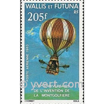 n° 124 -  Timbre Wallis et Futuna Poste aérienne