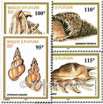 n° 209/212 -  Timbre Wallis et Futuna Poste aérienne