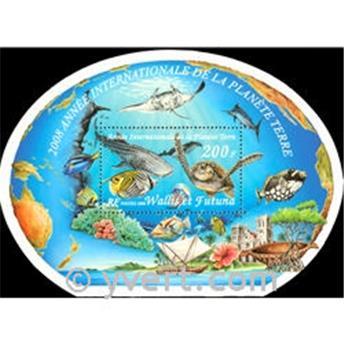 n° 24 -  Selo Wallis e Futuna Blocos e folhinhas