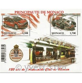 n° 2705/2706 (BF 95) - Selo Mónaco Correios