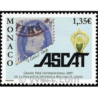 n° 2712 -  Selo Mónaco Correios