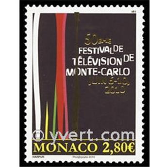 n° 2742 -  Selo Mónaco Correios
